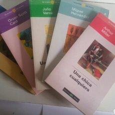 Libros: 5 NOVELAS DE VERANO DE /EL MUNDO/ 1998.. Lote 142319956