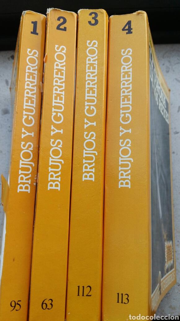 Libros: BRUJOS Y GUERREROS de Steve Jackson Lote 4 librojuegos Altea junior - Foto 3 - 142615364