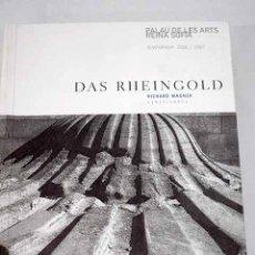 Libros: DAS RHEINGOLD. Lote 142631384
