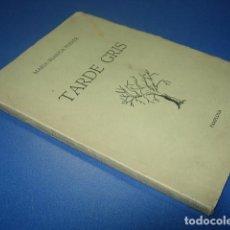 Libros: TARDE GRIS. POR MARIA BLANCA FERRER. POESIA. Lote 142749054