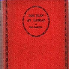 Libros: DON JUAN AV LABRAZ - BAROJA, PÍO. Lote 143136562