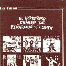 Libros: EL HORROROSO CRIMEN DE PEÑARANDA DEL CAMPO - BAROJA, PÍO. Lote 143136566