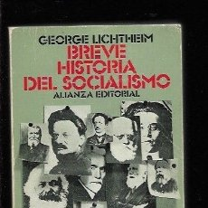 Libros: BREVE HISTORIA DEL SOCIALISMO. Lote 143230974