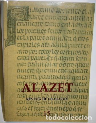 ALAZET. REVISTA DE FILOLOGÍA - V.V.A.A. (Libros sin clasificar)