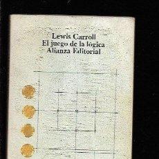 Libros: JUEGO DE LA LOGICA Y OTROS ESCRITOS - EL. Lote 143352325