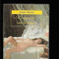 Libros: CORAZON TAN BLANCO. Lote 143352333