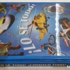 Libros: LO SE TODO-LA SUPER-MEGA-UBER GUIA PARA SABER ABSOLUTAMENTE TODO CON MAS DE 2000 DATOS. Lote 143421318