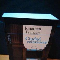 Libros: CIUDAD VEINTISIETE. JONATHAN FRANZEN. ALFAGUARA 2002. MUY BUEN ESTADO. Lote 143459262