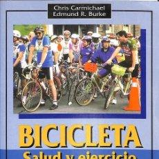 Libros: BICILETA SALUD Y EJERCICIO.. Lote 143464980