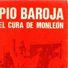 Libros: EL CURA DE MONLEÓN. - BAROJA, PÍO. Lote 143672925