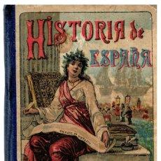 Libros: NOCIONES DE HISTORIA DE ESPAÑA. - MADRID, CALLEJA, S.A. (H. 1902). 15X10 CM. 180 P. CARTONÉ-TELA. PO. Lote 55971232