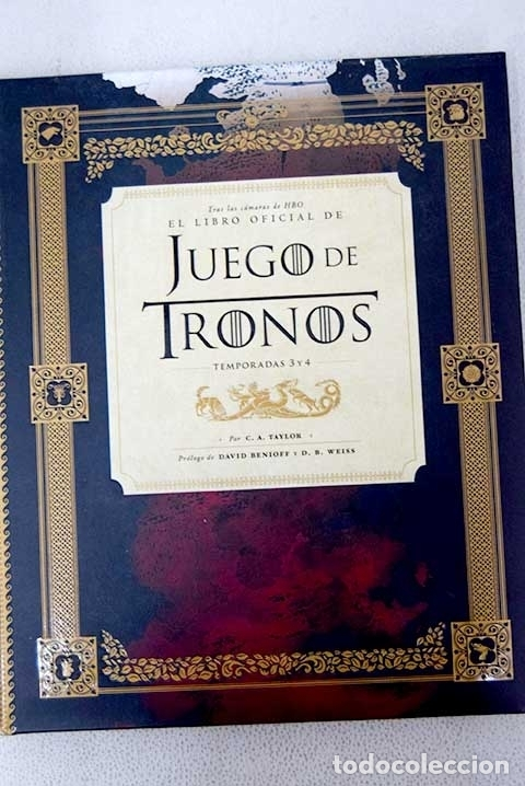 El Libro Oficial De Juego De Tronos Temporadas Buy Unclassified Books At Todocoleccion 144298112