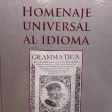 Libros: HOMENAJE UNIVERSAL AL IDIOMA ESPAÑOL. VV.AA. ED / FUNDACIÓN INDEPENDIENTE / NUEVO.. Lote 65885990