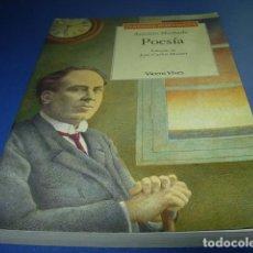 Libros: POESÍA; ANTONIO MACHADO---- VICENS VIVES. Lote 194325932