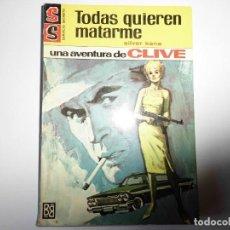 Libros: SERVICIO 837 SILVER KANE. Lote 145378214