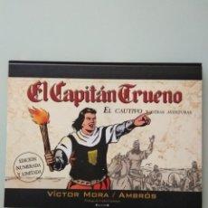 Libros: EL CAPITÁN TRUENO:EL CAUTIVO Y OTRAS AVENTURAS. Lote 145398078