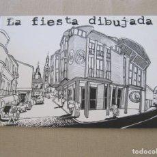 Libros: LA FIESTA DIBUJADA ASTERIX Y OBELIX SPIDERMAN IBAÑEZ GUIA DE LECTURA DE COMICS COMIC . Lote 145473462