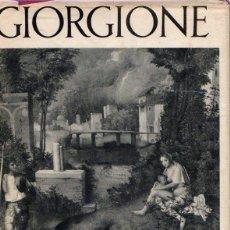Libros: GIORGIONE - NO CONSTA AUTOR. Lote 146108910