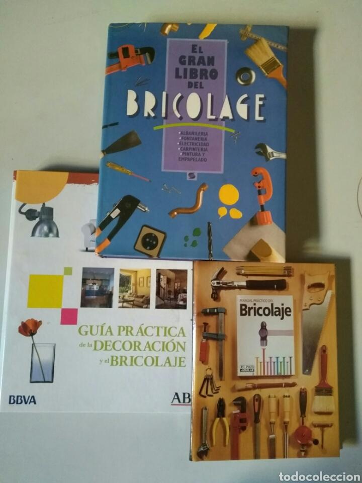 LOTE DE LIBROS Y FICHAS DE BRICOLAJE (Libros sin clasificar)