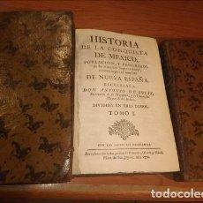Libros: HISTORIA DE LA CONQUISTA DE MÉXICO, POBLACIÓN Y PROGRESOS DE LA AMÉRICA SEPTENTRIONAL, CONOCIDA POR . Lote 53657391