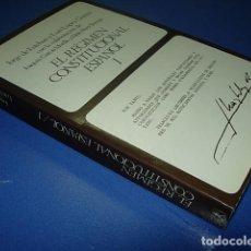 Libros: EL REGIMEN CONSTITUCIONAL ESPAÑOL 1 - DE ESTEBAN, JORGE; LOPEZ GUERRA, LUIS. Lote 270946153