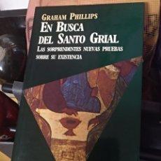 Libros: EN BUSCA DEL SANTO GRIAL GRAHAM PHILIPS. Lote 146780970