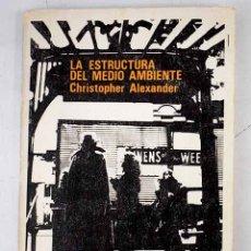 Libros: LA ESTRUCTURA DEL MEDIO AMBIENTE. Lote 147554037
