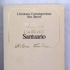 Libros: SANTUARIO. Lote 147556422
