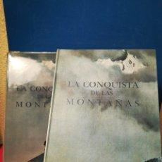 Libros: LA CONQUISTA DE LAS MONTAÑAS - ERIC SHIPTON - TIMUN MAS, 1969. Lote 147957189