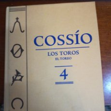 Libros: EL COSSIO. Lote 147995898