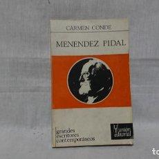 Libros: MENENDEZ PIDAL, CARMEN CONDE. Lote 148097410