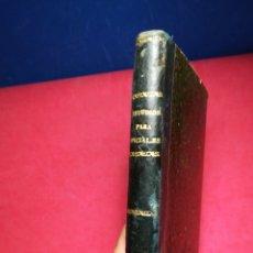 Libros: COMPENDIO MULTIDISCIPLINAR COLEGIO OFICIALES GUARDIA CIVIL EL ESCORIAL-FEDERICO TORRES SAAVEDRA,1910. Lote 148200114