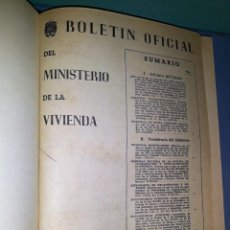 Libros: VOLUMEN MINISTERIO DE LA VIVIENDA AÑO 1961 BOLETIN OFICIAL EPOCA FRANQUISTA VER FOTOS Y DESCRIPCION. Lote 148741106