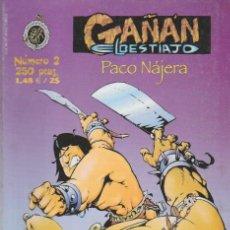 Libros: GAÑÁN EL BESTIAJO. COLECTIVO D.TEBEOS 1999. Nº 2. Lote 288872018