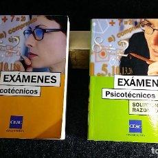 Bücher - 2 LIBROS CEAC PSICOTECNICOS OPOSICIONES LIBRO TEST Y LIBRO SOLUCIONES RAZONADAS - 149064526