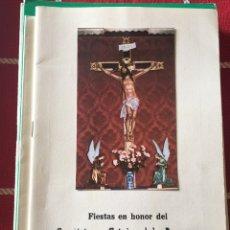 Libros: 10 PROGRAMAS FIESTAS CUENCA AÑOS70/80/90. Lote 149581693