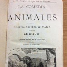Libros: LA COMEDIA DE LOS ANIMALES. Lote 150210792