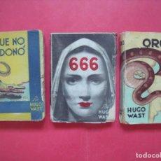 Libros: HUGO WAST.-LA QUE NO PERDONO.-666.-NUEVA YORK 1920.-NOVELAS.. Lote 150286694