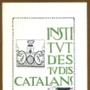 Libros: INSTITUT D'ESTUDIS CATALANS 1991. Lote 150661114