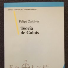 Libros: TEORÍA DE GALOIS. Lote 152021852
