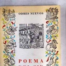 Libros: POEMA DEL CID. Lote 150893541