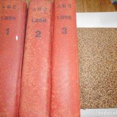 Libros: VV. AA DIARIO ILUSTRADO DE INFORMACIÓN GENERAL ABC 1956 Y92477. Lote 151079106