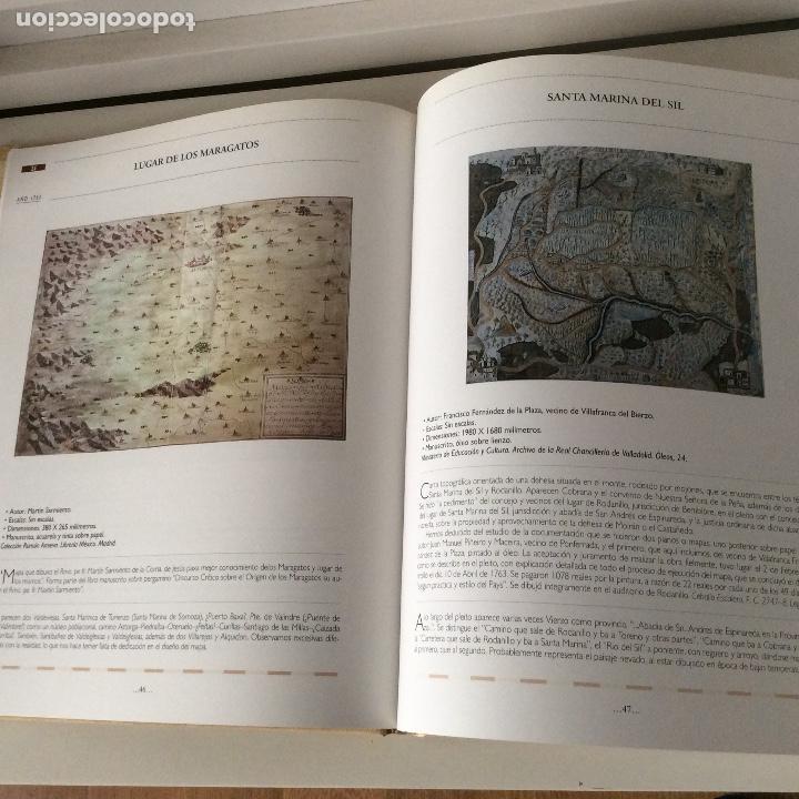Libros: León en la cartografía histórica Fundación Hullera Vasco-Leonsa - Foto 3 - 151121122