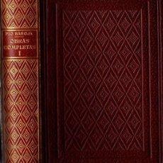 Libros: OBRAS COMPLETAS (COMPLETO, 8 VOLÚMENES) - BAROJA, PÍO. Lote 151356534