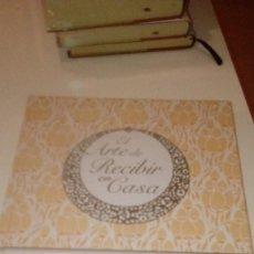 Libros: G-SEX69 LIBRO LOTE 5 LIBROS EL ARTE DE RECIBIR EN CASA LOS DE FOTO. Lote 151646350