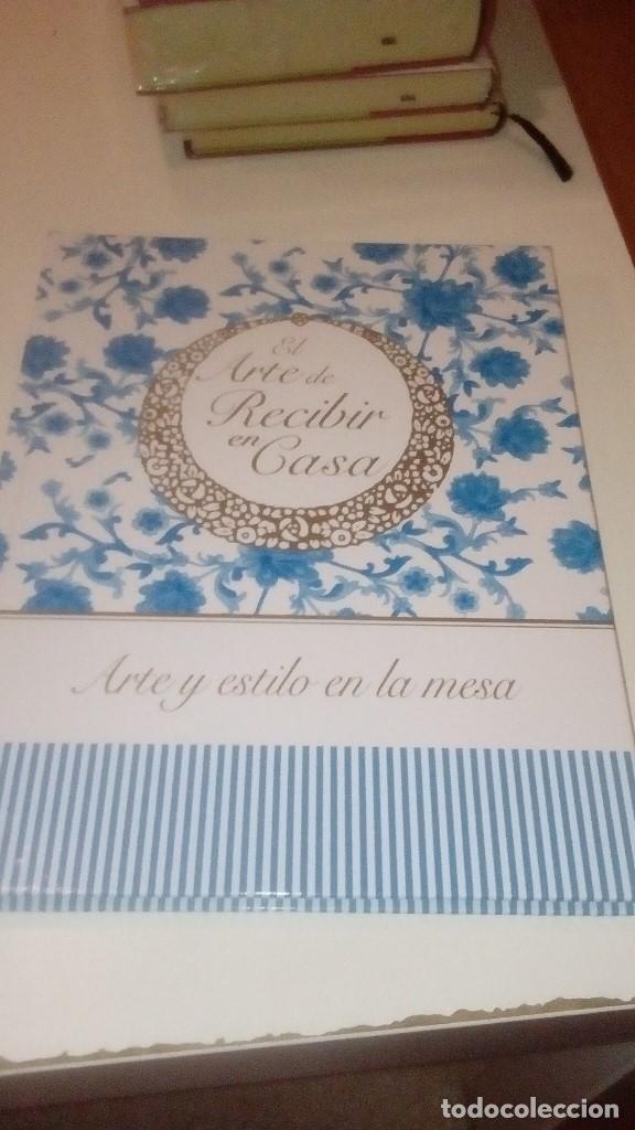 Libros: G-SEX69 LIBRO LOTE 5 LIBROS EL ARTE DE RECIBIR EN CASA LOS DE FOTO - Foto 3 - 151646350