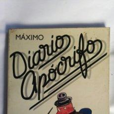 Libros: DIARIOS APÓCRIFOS. Lote 151662170