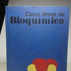 Libros: CURSO BREVE DE BIOQUÍMICA, OMEGA, 1976, ALBERT L. LEHNINGER. Lote 151733757