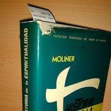 Libros: HISTORIA DE LA ESPIRITUALIDAD POR ---. - MOLINER, JOSE MARIA. Lote 151821120