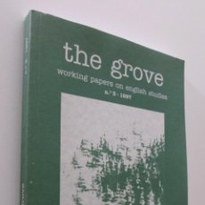 Libros: THE GROVE WORKING PAPERS ON ENGLISH STUDIES NUMBER 3 - UNIVERSIDAD DE JAÉN. Lote 151843556